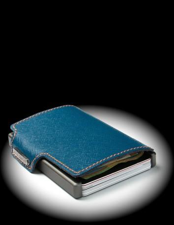 MONDRAGHI SAFFIANO - blue...